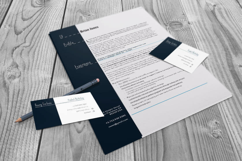 Free indesign templates 82 indesign files to download new templates free resume and business card flat saigontimesfo